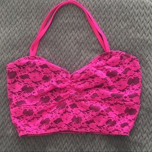 Balera lace bra top/crop top